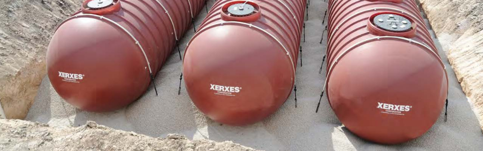 New Fiberglass tanks