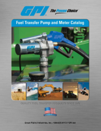 GPI Pumps, Meters, Parts & Accessories Catalog