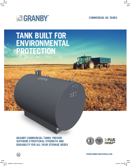 Commercial Single Walled Steel Tanks