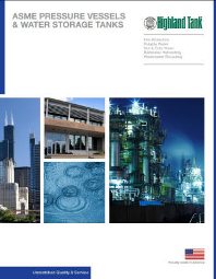 ASME Pressure Vessels & Water Storage Tanks Catalog