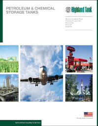 Petroleum & Chemical Tanks Catalog