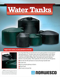 Above Ground Water Tanks Flyer